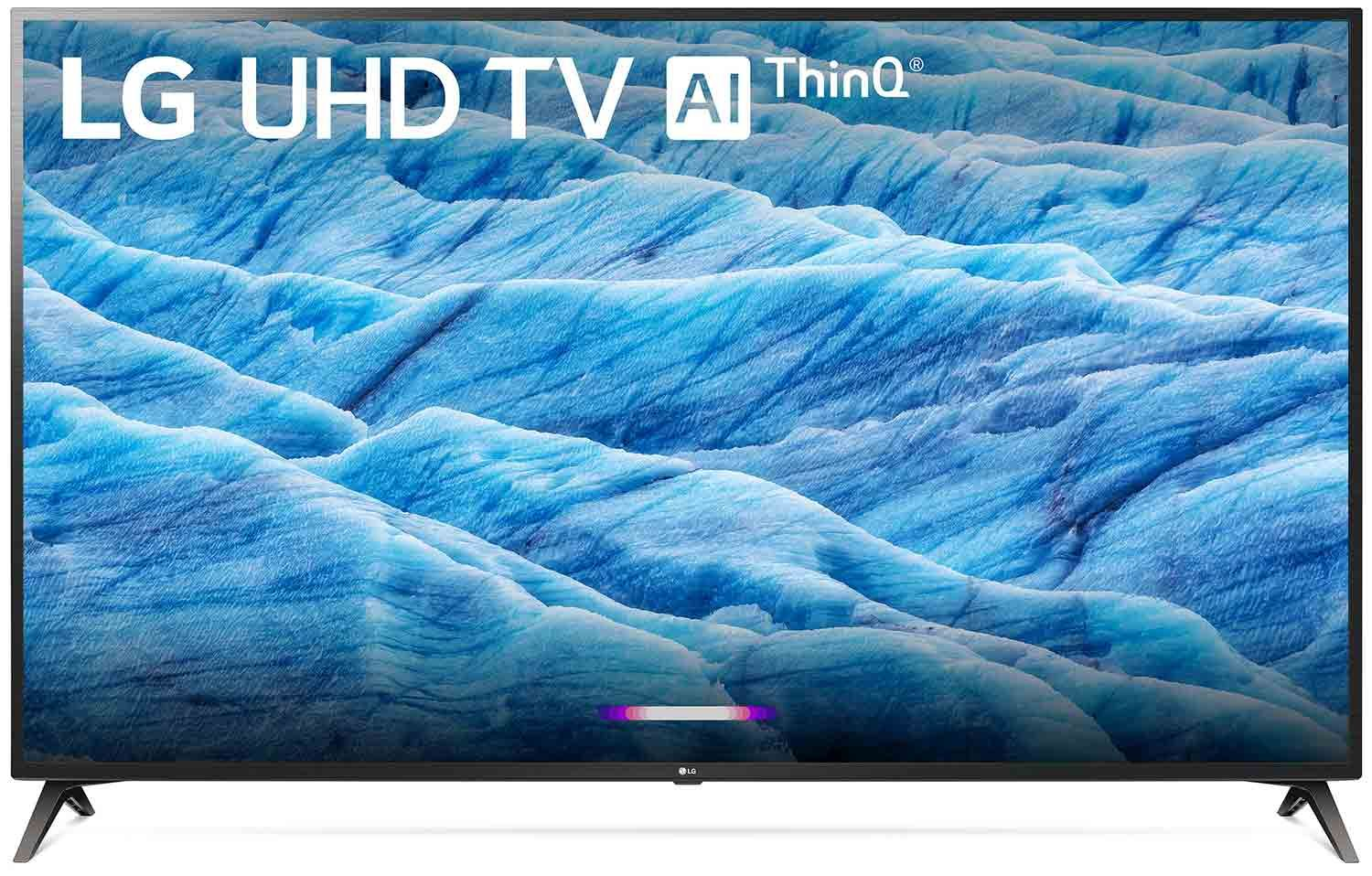 LG 70 Inch Black 4K HDR Smart LED TV With AI ThinQ