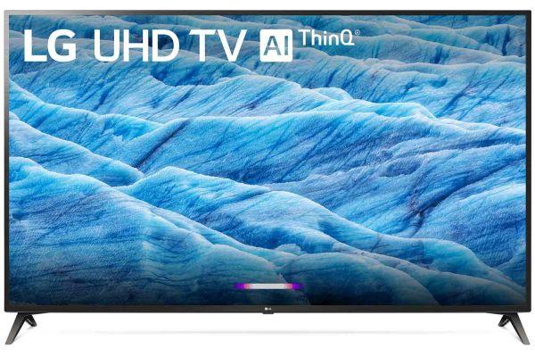 "LG 70"" Black 4K HDR Smart LED TV With AI ThinQ - 70UM7370PUA"