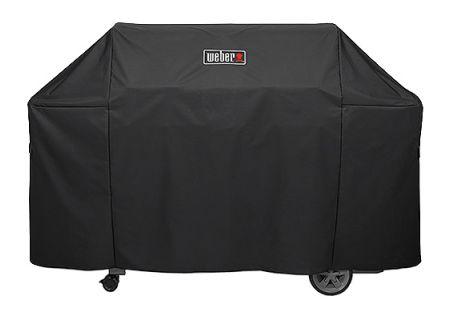 Weber Genesis II Premium Black 6 Burner Grill Cover - 7132
