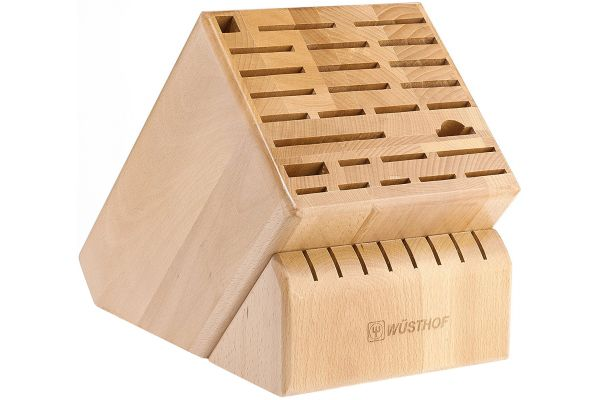 Wusthof 35-Slot Grand Natural Knife Block - 7235-1
