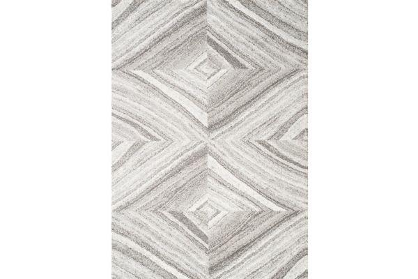 "Large image of Kalora Sable 5'3"" X 7'7"" Cream Grey Shaded Paragon Rug - 7312/G201 160230"