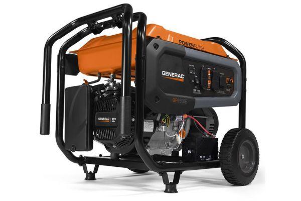 Generac GP Series GP6500E Portable Generator - 7682