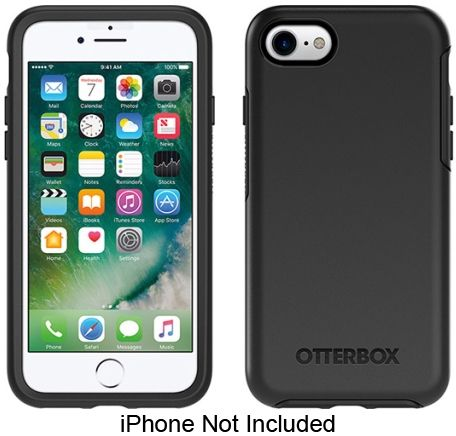 59f5576d9b1 Otterbox Black Symmetry Series Case For Apple iPhone 7 / 8 - 77-56669