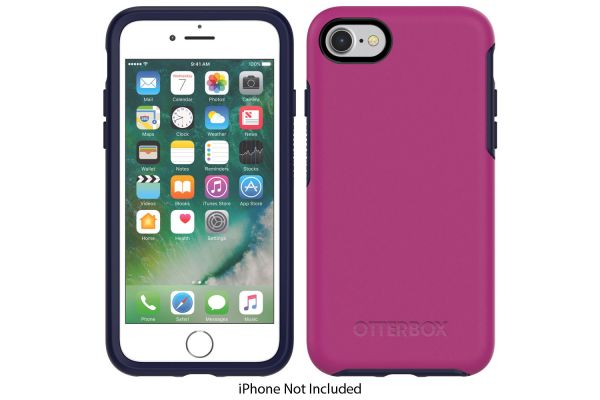 Large image of Otterbox Mix Berry Jam Symmetry Case For Apple iPhone SE/7/8 - 77-56671