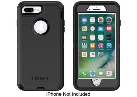 pretty nice b487e aa9a4 Otterbox Black Defender Series Case For Apple iPhone 7/8 Plus