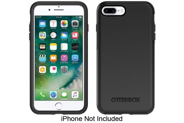 Otterbox Black Symmetry Series Case For Apple iPhone 7 / 8 Plus - 77-56871