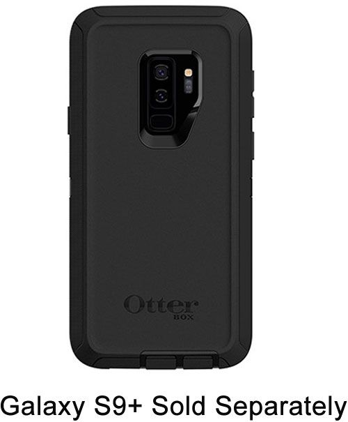 first rate 942b4 622c5 OtterBox Defender Series Screenless Edition Black Case for Galaxy S9+