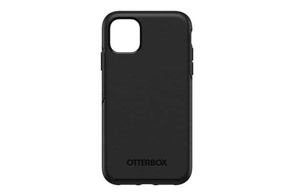 Large image of Otterbox Black Symmetry Series Case For Apple iPhone 11 - 77-62467