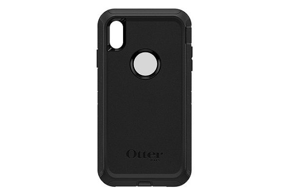 Large image of OtterBox Black Defender Series Screenless Edition Case for iPhone XS Max - 77-59971