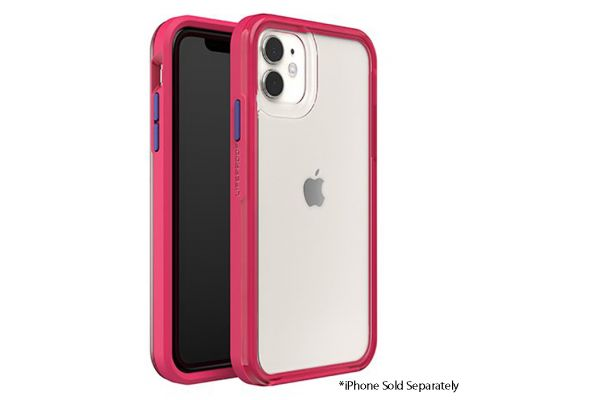 LifeProof Slam Clear/Pink Case For Apple iPhone 11 - 77-62492