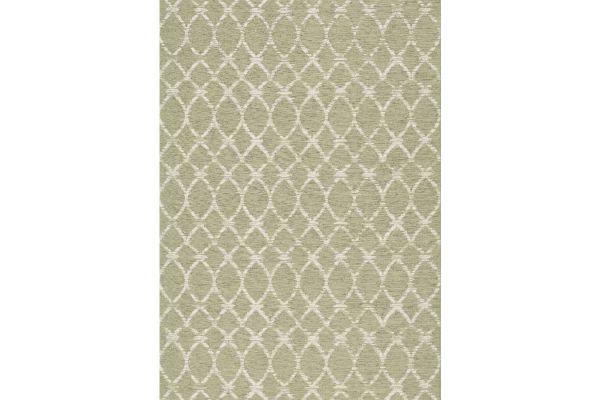 """Large image of Kalora Vista 7'10"""" X 10'10"""" Green Cream Latticework Indoor/Outdoor Rug - 7763/H816 240330"""