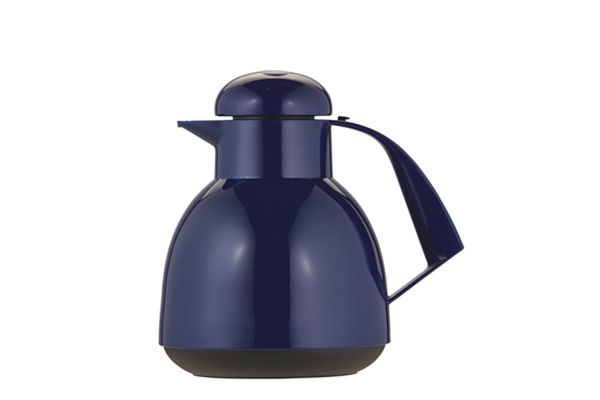 """Large image of Frieling """"Day Push"""" 34 Oz. Blue Insulated Server - 7924008"""