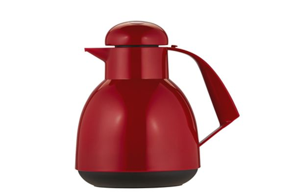 """Large image of Frieling """"Day Push"""" 34 Oz. Red Insulated Server - 7924046"""
