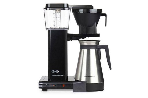Large image of Technivorm Moccamaster 10-Cups KBGT Black Coffee Maker - 79314