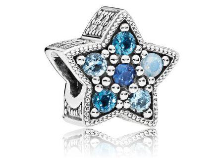 PANDORA Multi-Colored Crystal Bright Star Charm - 796379NSBMX
