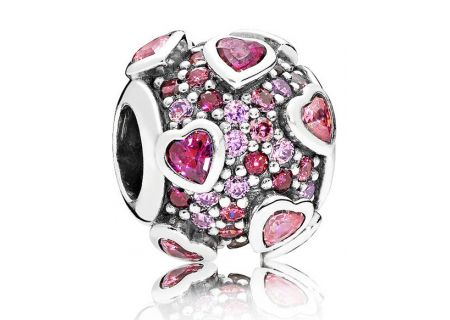 PANDORA Multi-Colored CZ Explosion Of Love Charm - 796555CZSMX