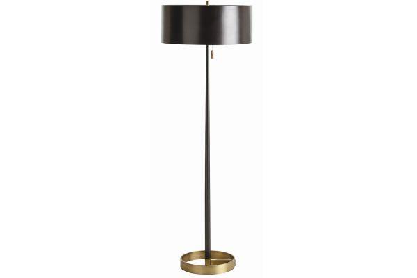 Arteriors Violetta Matte Black Floor Lamp - 79862-661