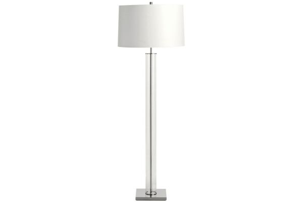 Arteriors Norman Polished Nickel Floor Lamp - 79956-148