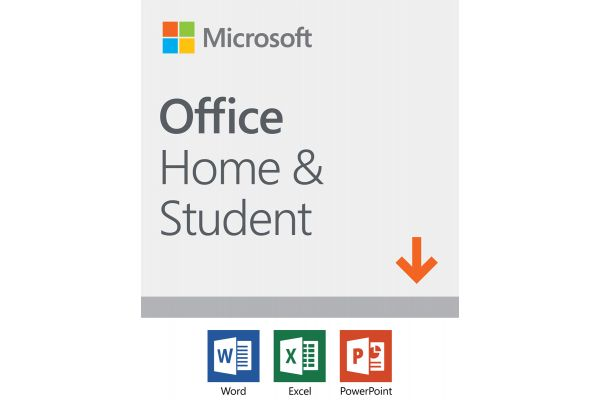 Microsoft Office Home And Student 2019, 1 Device, Windows 10 PC/Mac Download - 79G-05011