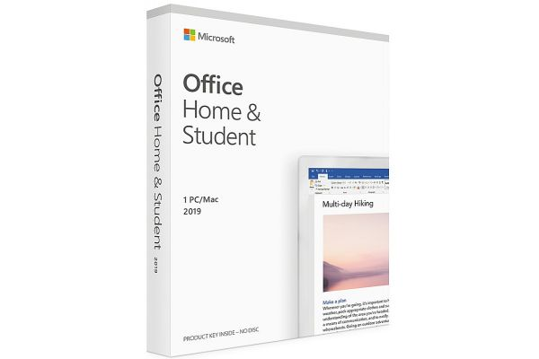 Large image of Microsoft Office 2019 Home & Student - Box Pack - 1 PC/MAC - MSPKC47409