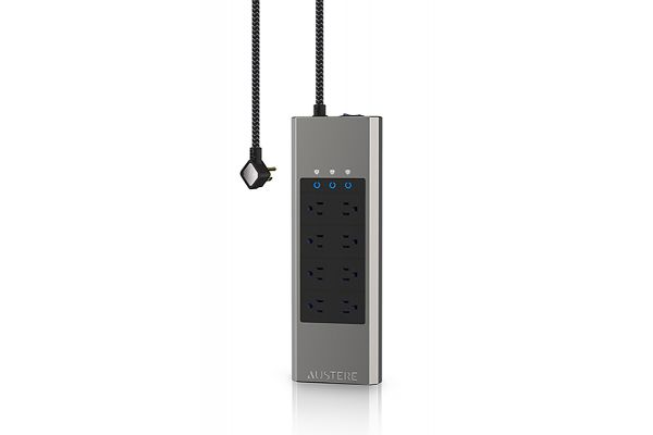 Large image of Austere VII Series 8-Outlet Power Surge Protector w/ Omniport USB & 45W PD - 7S-PS8-US1