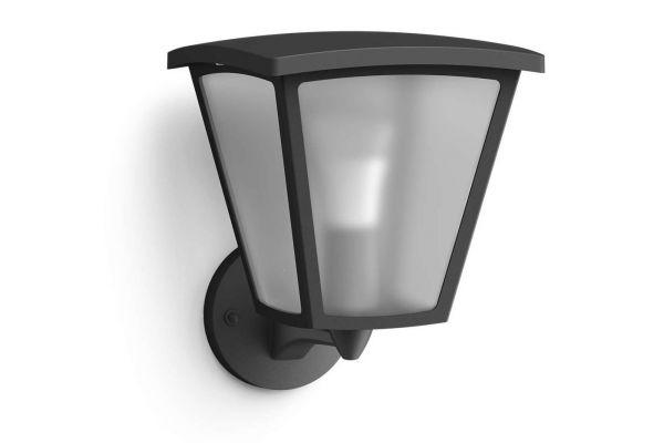 Large image of Philips Hue White Inara Outdoor Wall Lantern - 802033