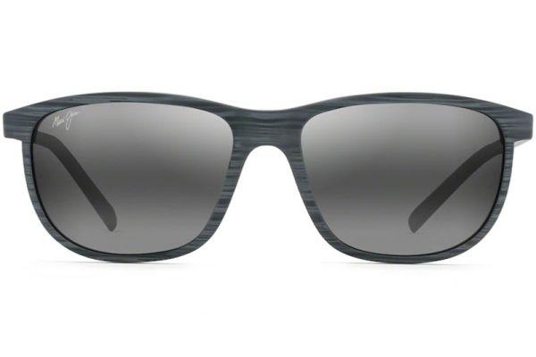 Large image of Maui Jim Dragon's Teeth Grey Stripe Unisex Sunglasses - 811-11D