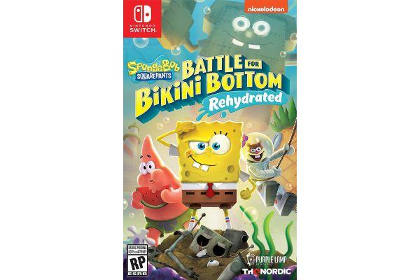 Large image of Nintendo Switch SpongeBob SquarePants: Battle For Bikini Bottom - Rehydrated Video Game - 811994022141