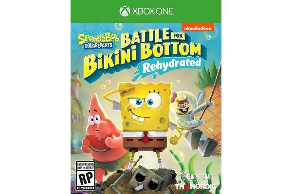 Large image of Microsoft Xbox One SpongeBob SquarePants: Battle For Bikini Bottom - Rehydrated Video Game - 811994022165