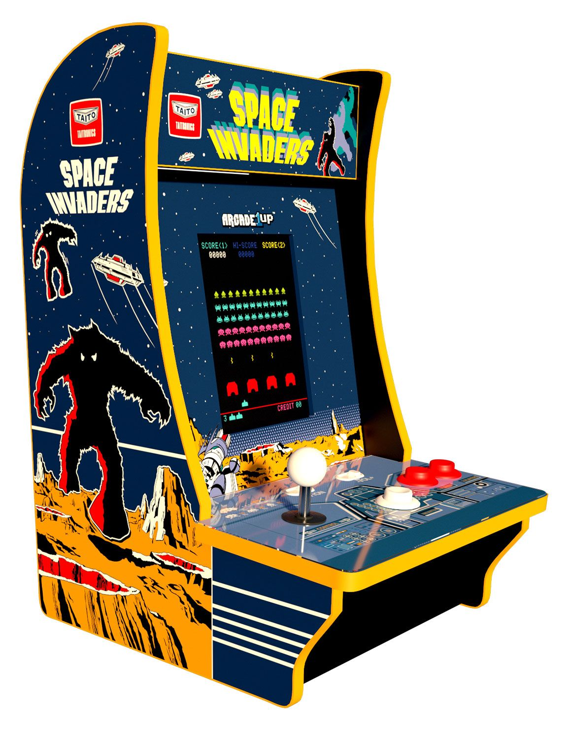Arcade1Up Space Invaders Countercade Machine