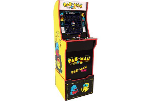Arcade1Up Pac-Man Arcade Cabinet With Riser - 815221026940