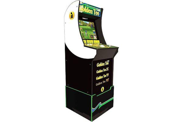 Arcade1up Golden Tee Arcade Game With Riser - 815221026964