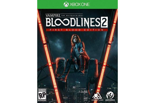Large image of Microsoft Xbox One Vampire: The Masquerade - Bloodlines 2 Video Game - 816819016855