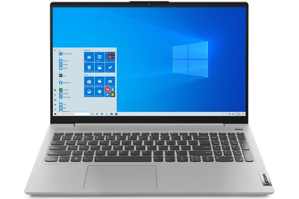 "Large image of Lenovo IdeaPad 5 15.6"" Platinum Gray Notebook AMD Ryzen 5-4500U 8GB RAM 512GB SSD, AMD Radeon Graphics - 81YQ0008US"
