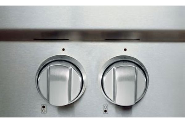 """Large image of Wolf 30"""" Gas Range Stainless Steel Knobs - 821181"""