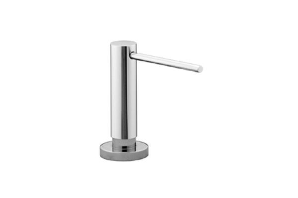 Large image of Dornbracht Tara Polished Chrome Built-In Liquid Soap Dispenser - 82434970-00