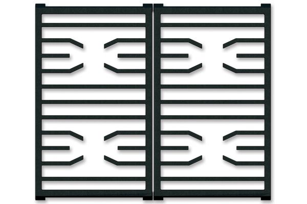 Large image of Wolf Professional Gas Cooktop Transitional Grates - 827597
