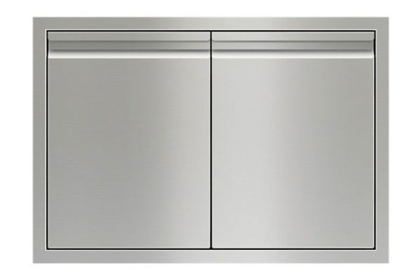 """Large image of Wolf 30"""" Stainless Steel Double Access Doors - 827600"""