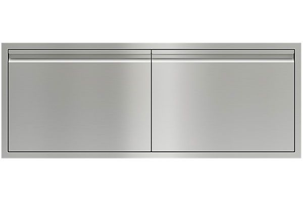 "Large image of Wolf 54"" Stainless Steel Double Access Doors - 827603"