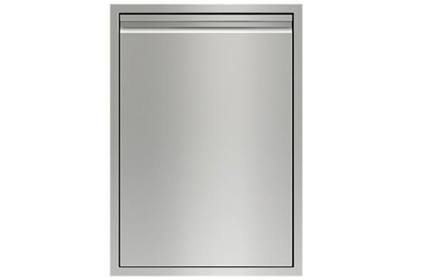 """Large image of Wolf 24"""" Stainless Steel Right-Hinge Tall Dry Storage - 828414"""