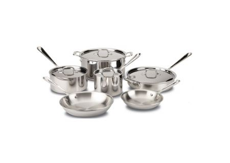 All-Clad 10-Piece Stainless Cookware Set - 8400000962