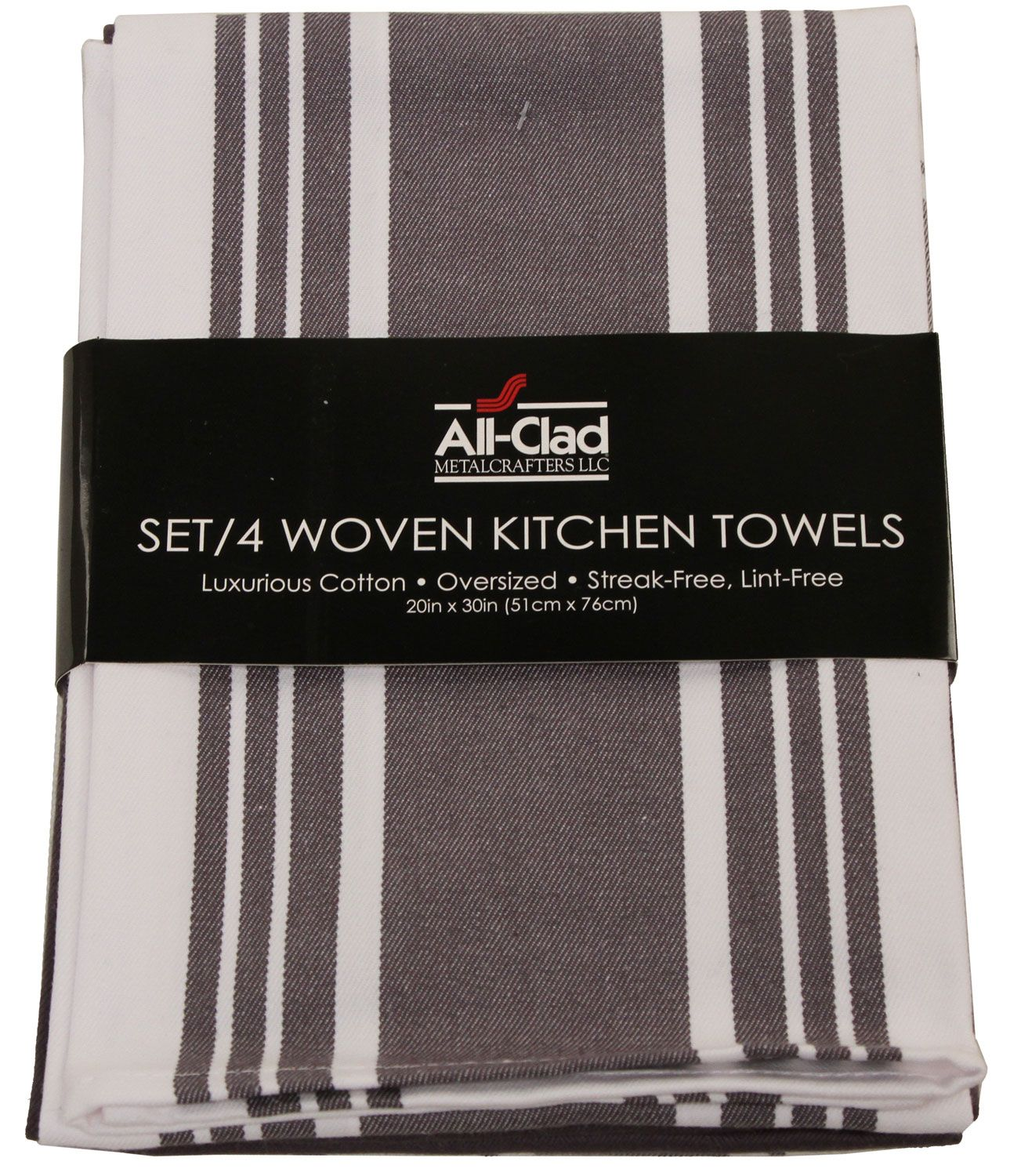 All Clad Pewter Set Of 4 Woven Kitchen
