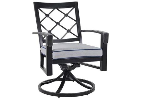 Veranda Classics Bella Collection Swivel Rocker Dining Chairs - 85C0220S011-2PK