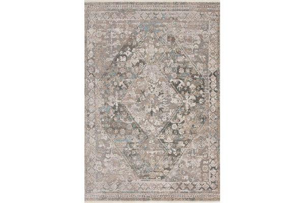 "Large image of Kalora Evora 5'3"" X 7'7"" Grey Beige Intricate Traditional Rug - 8657/12 160230"