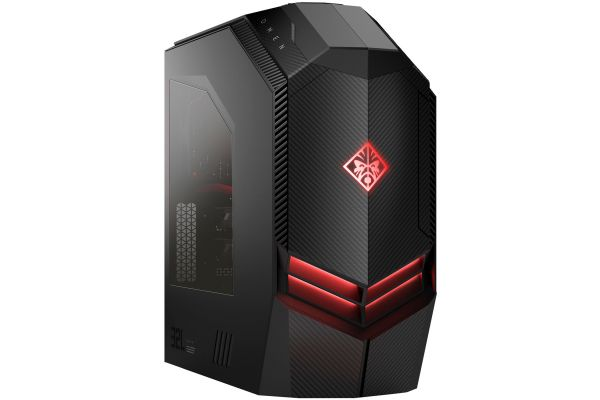 HP OMEN Black Gaming Desktop Computer Intel Core i7-9700K 16GB RAM 2TB HD + 512GB SSD, NVIDIA GeForce RTX 2080 8GB - 2HJ82AA#ABA