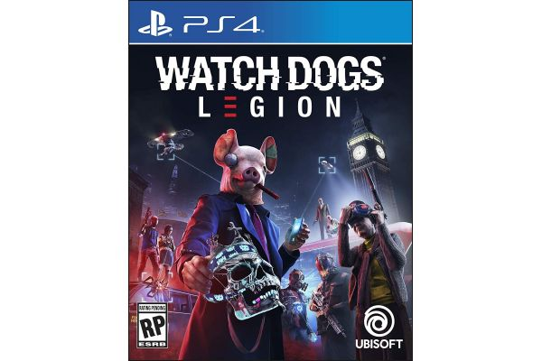 Large image of Sony PlayStation 4 Watch Dogs: Legion Video Game - 887256090630