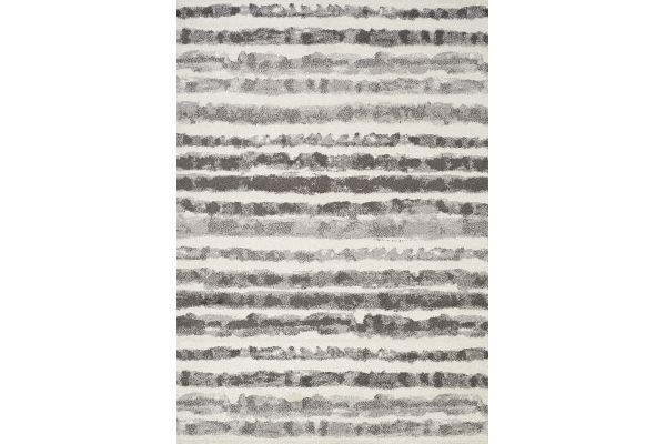 "Large image of Kalora Focus 7'10"" X 10'6"" Grey Marker Stripes Rug - 8911/9343 240320"