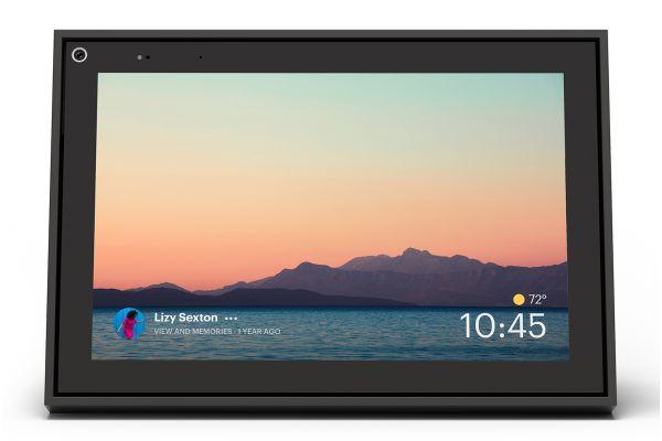 "Facebook Portal Black 10"" HD Display Smart Video Calling With Alexa Built-In - 899-00080-02"