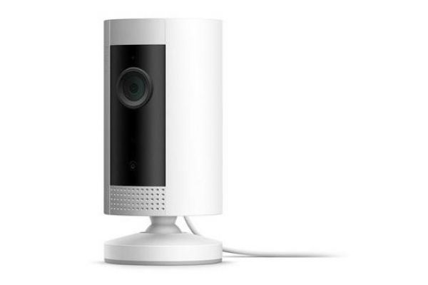 Large image of Ring White Indoor Wi-Fi Security Camera - B07Q9VBYV8