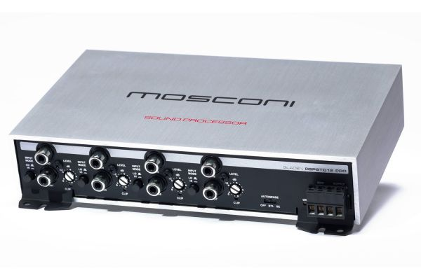 Mosconi Gladen 8 To 12 Channels Digital Signal Processor - DSP8TO12PRO